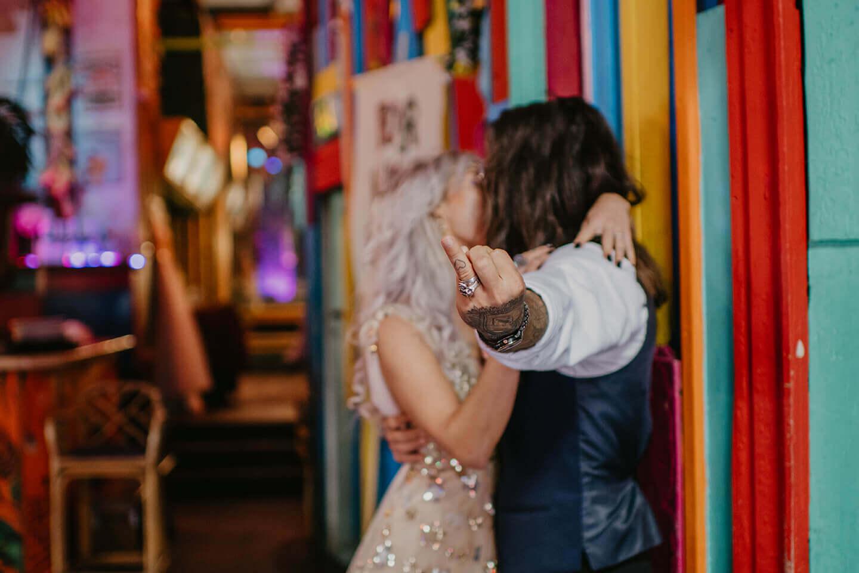 wedding, alternative wedding, London wedding, colourful wedding,