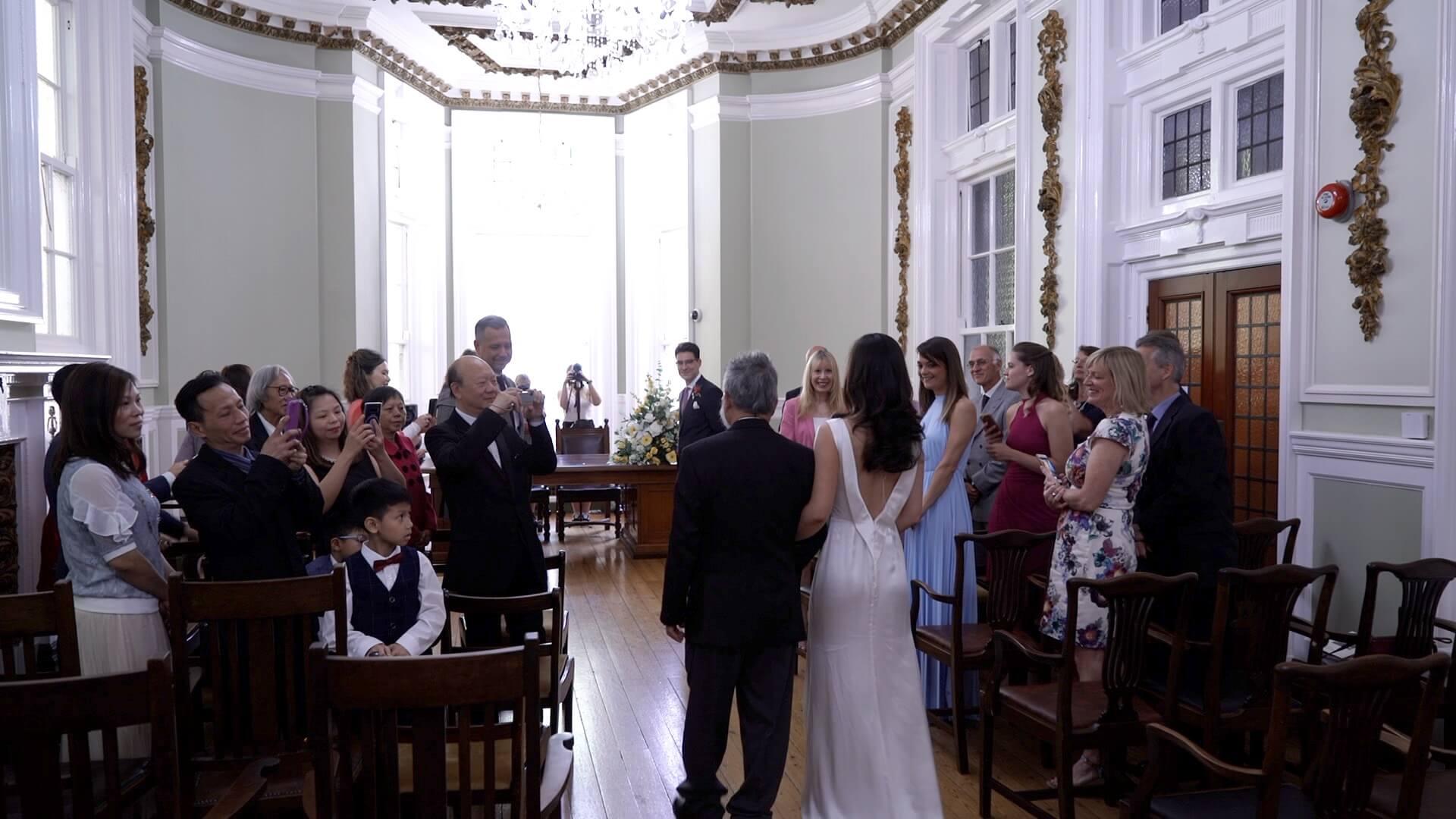 intimate wedding, wedding videography hampshire, wedding video
